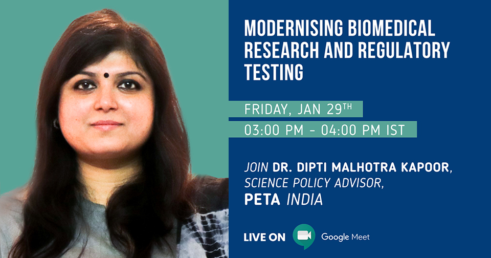 Webinar on Modernising Biomedical Research and Regulatory Testing